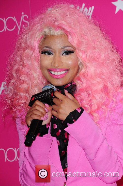 nicki minaj at her pink friday fragrance 4182459