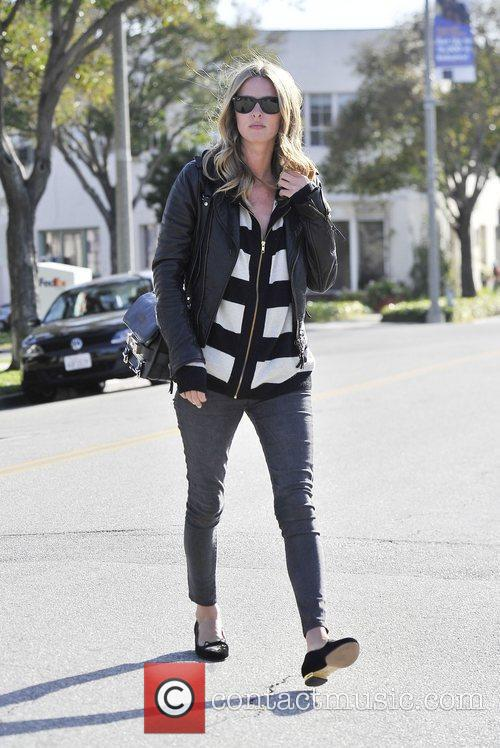 Walking in Beverly hills wearing a leather jacket...