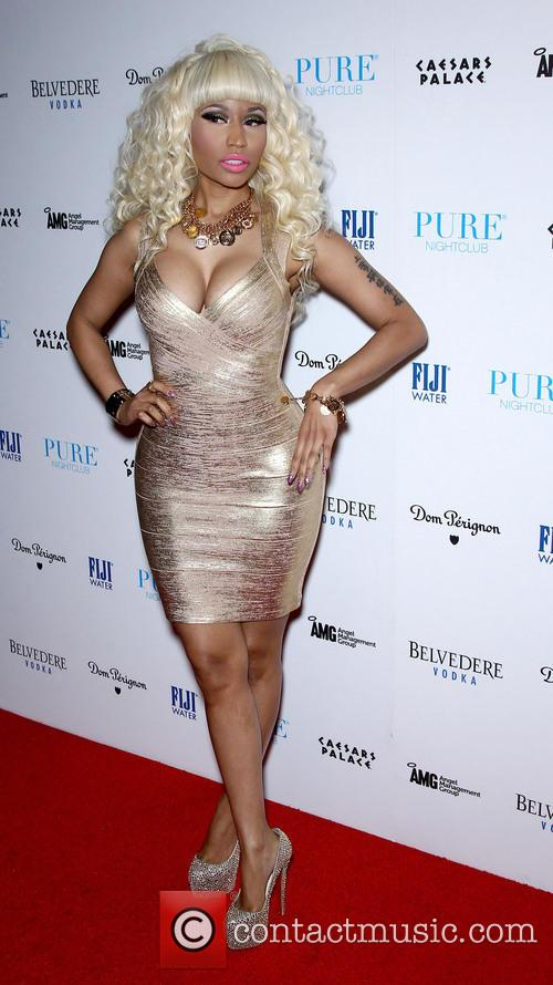 Nicky Minaj Nicky Minaj hosts the New Year's...