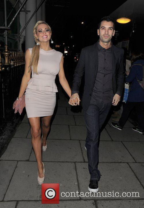Nicola McLean and her husband Tom Williams, out...