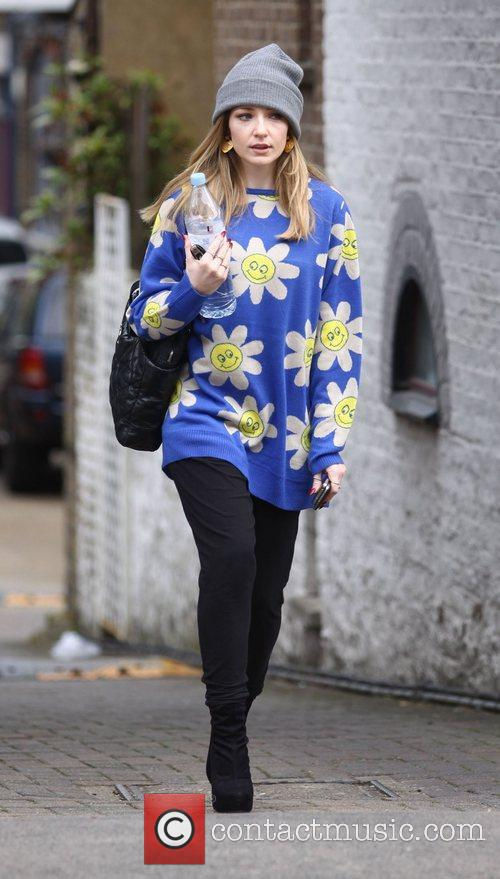 nicola roberts leaving a meeting in central 4153890