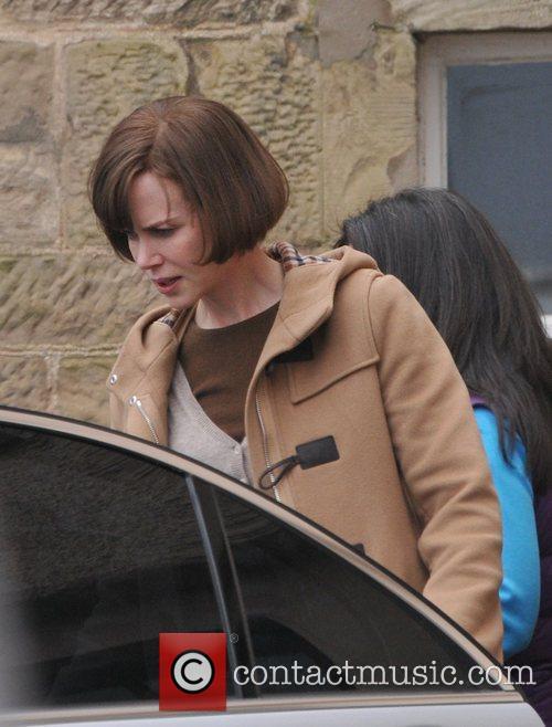 Nicole Kidman and husband Keith Urban seen in...