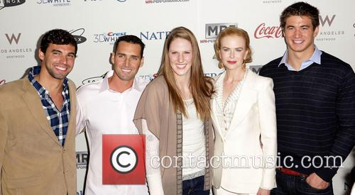 Missy Franklin, Nicole Kidman, Merrill Moses and Ricky Berens 1