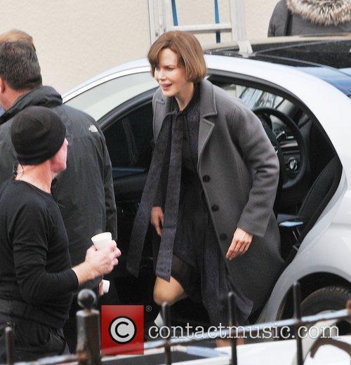 Nicole Kidman  arrives at the British Legion...