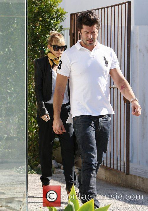 Nicole Richie leaving a hairdressing salon in Beverly...