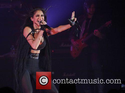 Nicole Scherzinger and Hammersmith Apollo 4