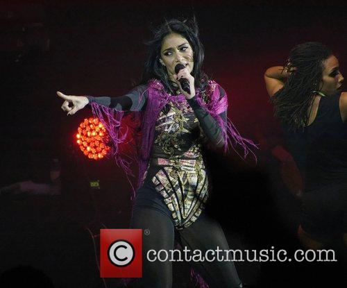 Nicole Scherzinger and Hammersmith Apollo 18