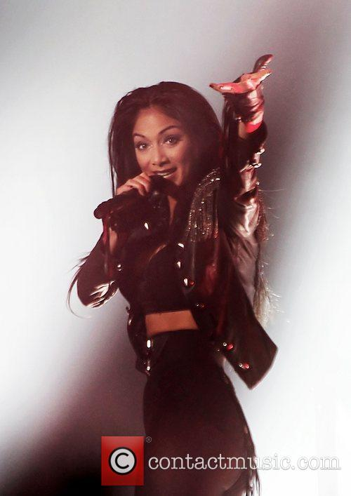 Nicole Scherzinger and Manchester O2 Apollo 3