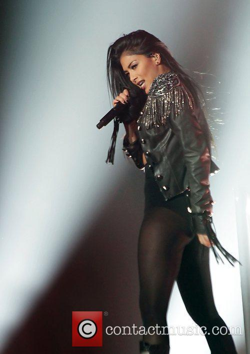 Nicole Scherzinger and Manchester O2 Apollo 4