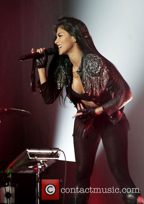 Nicole Scherzinger and Manchester O2 Apollo 6