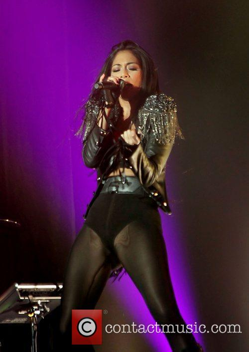 Nicole Scherzinger and Manchester O2 Apollo 7