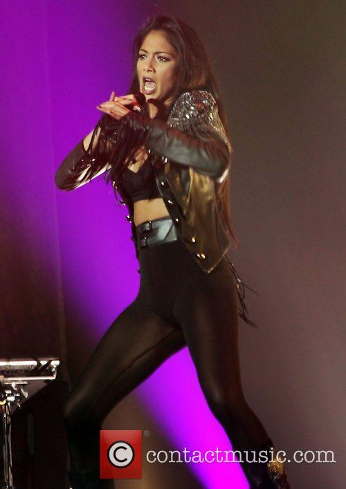 Nicole Scherzinger and Manchester O2 Apollo 9