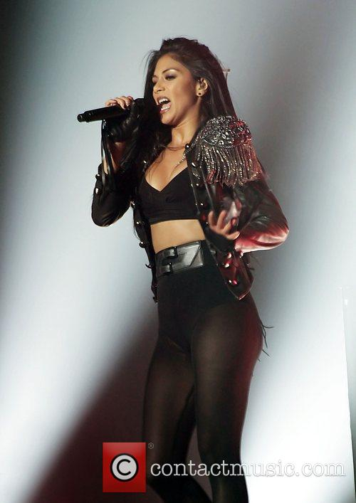 Nicole Scherzinger and Manchester O2 Apollo 10