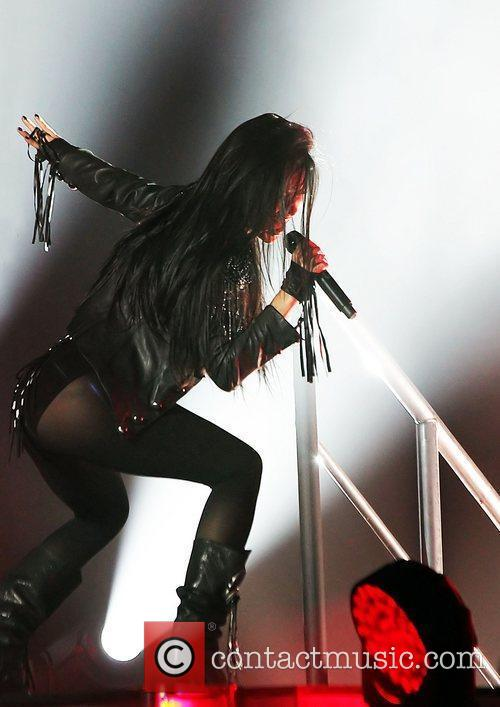 nicole scherzinger performing live on stage at 3745286