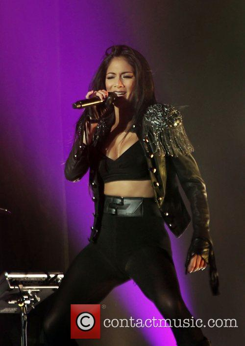 nicole scherzinger performing live on stage at 3745287