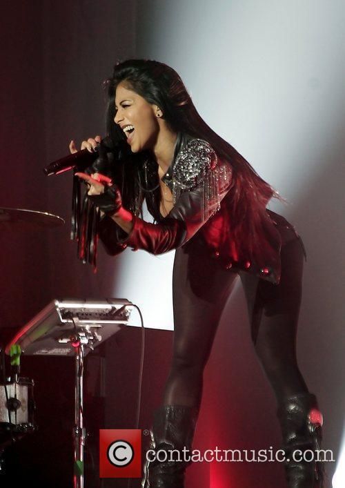 Nicole Scherzinger and Manchester O2 Apollo 14