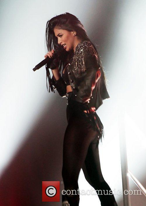 Nicole Scherzinger and Manchester O2 Apollo 15
