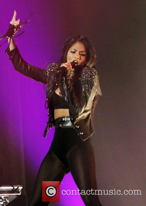 Nicole Scherzinger and Manchester O2 Apollo 17