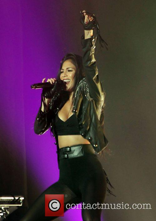 Nicole Scherzinger and Manchester O2 Apollo 19