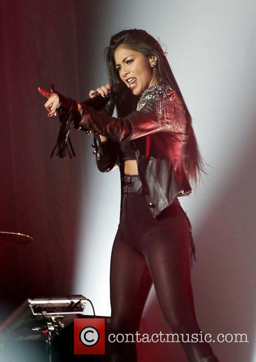 Nicole Scherzinger and Manchester O2 Apollo 21
