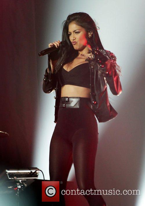 Nicole Scherzinger and Manchester O2 Apollo 22
