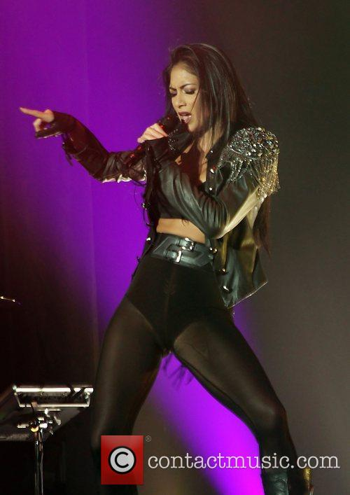 Nicole Scherzinger and Manchester O2 Apollo 23
