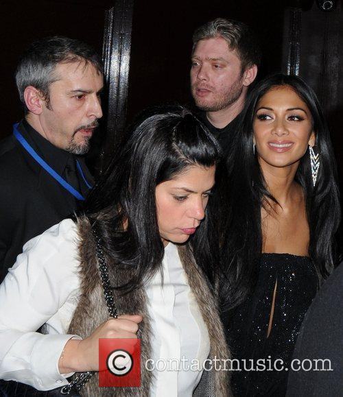 nicole scherzinger leaves boujis club after having 3740288