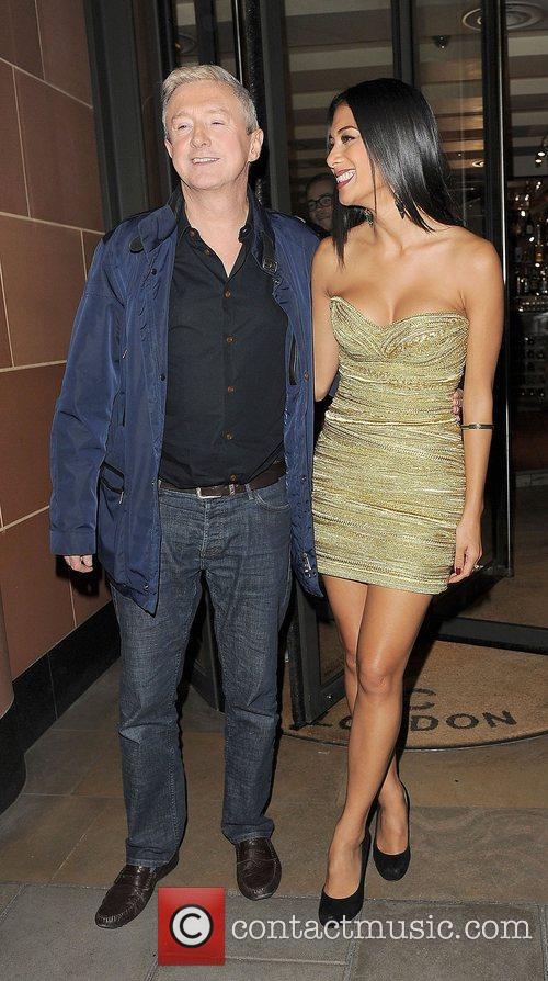 Louis Walsh, Nicole Scherzinger and C 5