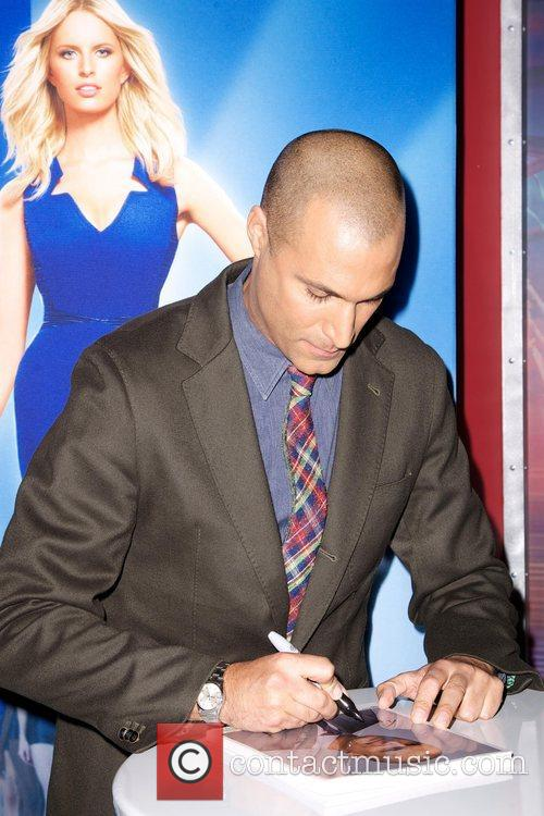 Nigel Barker, Oxygen, The, Face and Experience Store 3