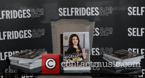 Nigella Lawson promotes and signs copies of her...