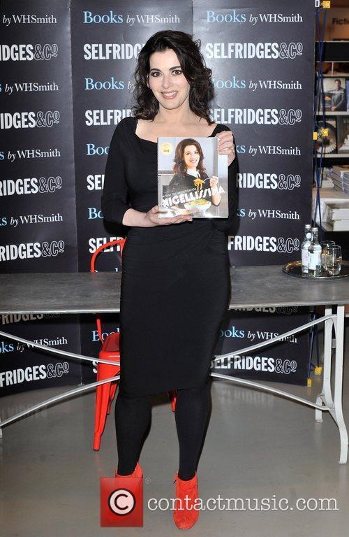 Nigella Lawson and Selfridges 5