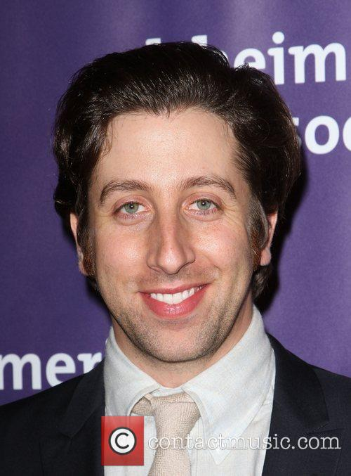 Simon Helberg and Beverly Hilton Hotel 1