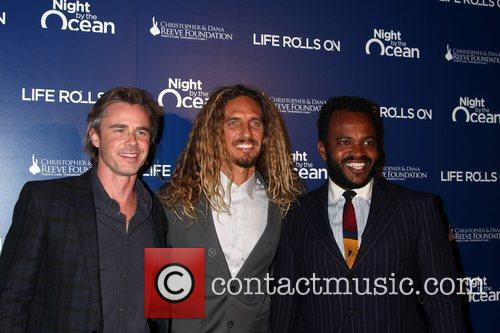 Sam Trammell, Rob Machado and Sal Masekela 4