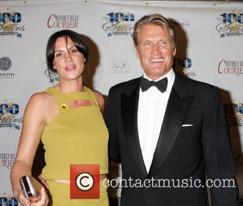 Dolph Lundgren and Guest 22nd Annual Night Of...