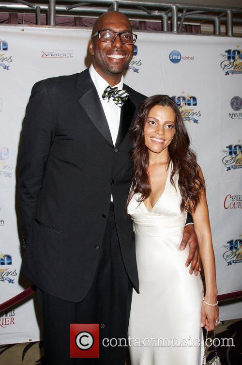 John Salley and Guest 22nd Annual Night Of...