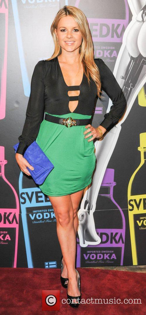 Ali Fedotowsky  Svedka Vodka hosts 'Night Of...