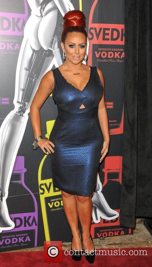 Aubrey O'Day  Svedka Vodka hosts 'Night Of...