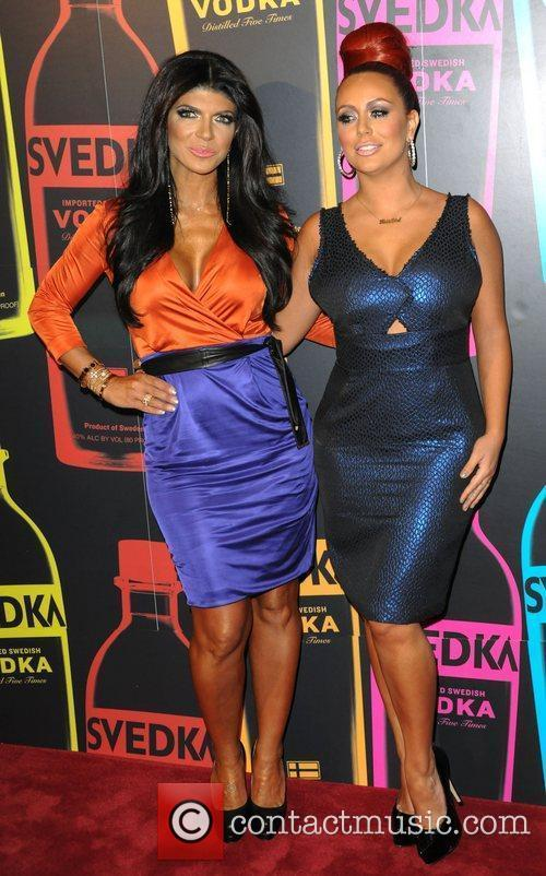 Aubrey O'Day; Teresa Giudice  Svedka Vodka hosts...