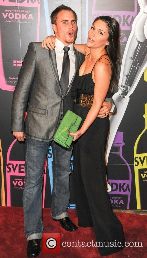DeAnna Pappas, Stephen Stagliano  Svedka Vodka hosts...