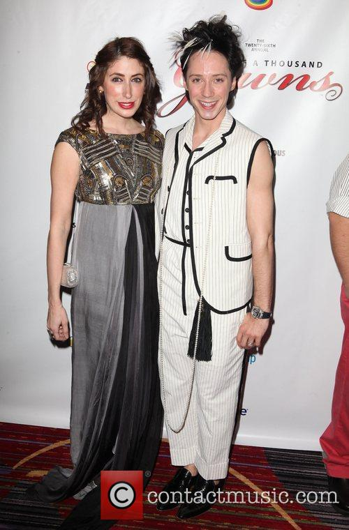 Lauren Rae Levy and Johnny Weir 26th Annual...