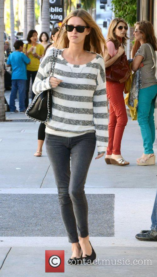 Nicky Hilton out and about on Rodeo Drive.