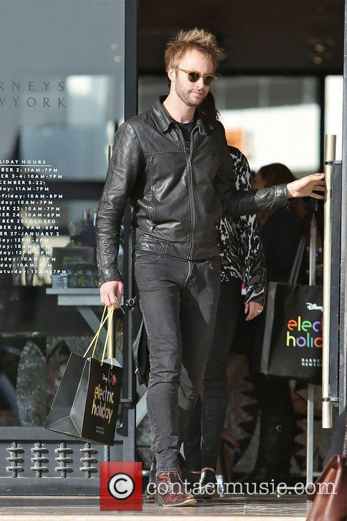 Paul McDonald leaves Barneys New York in Beverly...