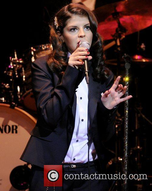 Nikki Yanofsky  performs on stage at The...