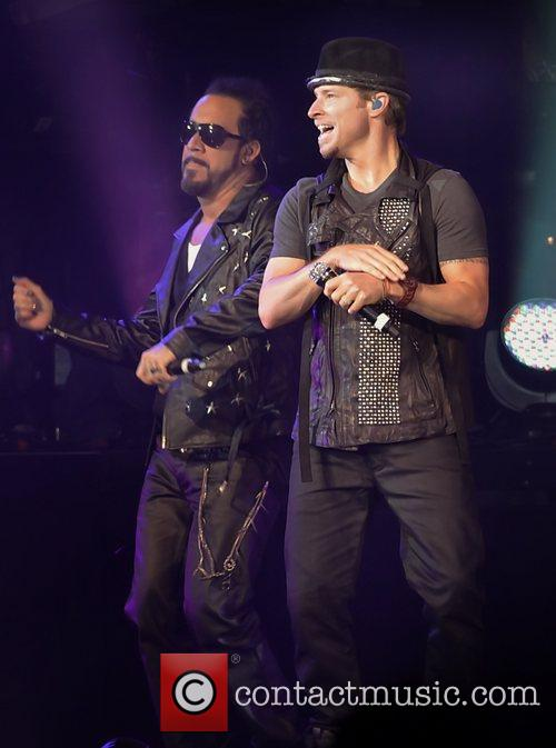 Brian Littrell, A.J. McLean of The Back Street...