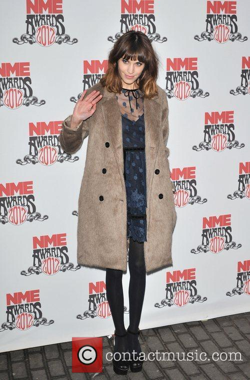 Alexa Chung NME Awards 2012 held at the...