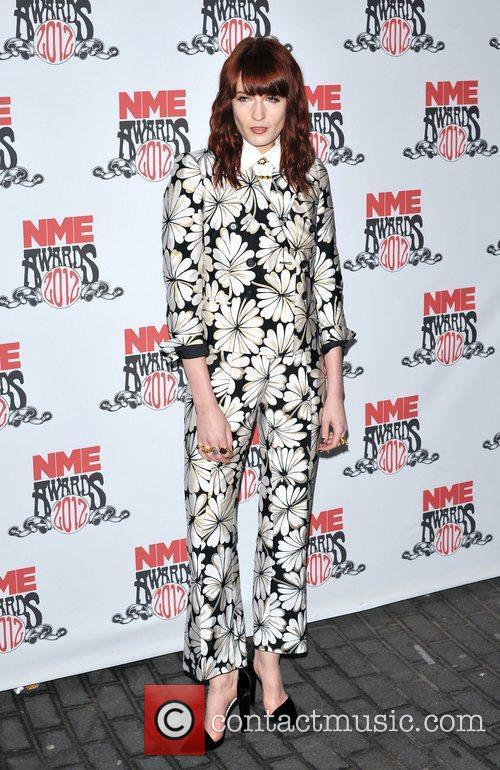 florence welch nme awards 2012 held at 3759632