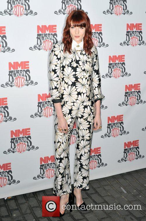 florence welch nme awards 2012 held at 3759641