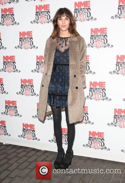 Alexa Chung The NME Awards 2012 held at...