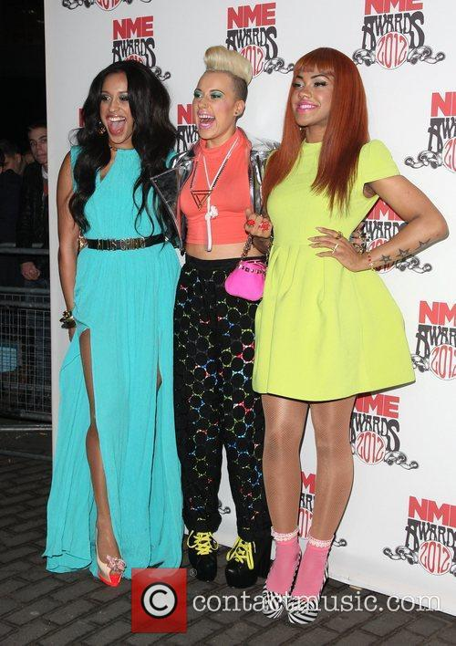 Alexandra Buggs, Karis Anderson and Courtney Rumbold of...
