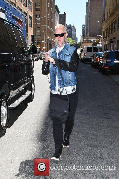 Arriving at a rehearsal studio with his 'No...